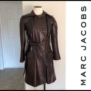 Marc Jacobs vintage leather coat-Beautiful cond!
